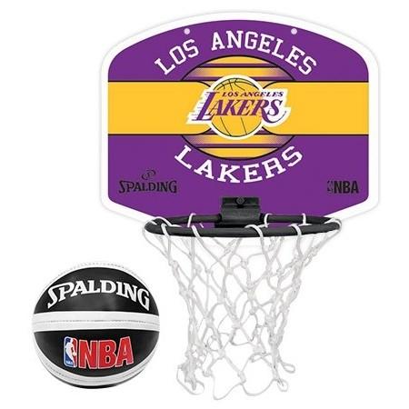 Basketball basket - Spalding NBA MINIBOARD LA LAKERS