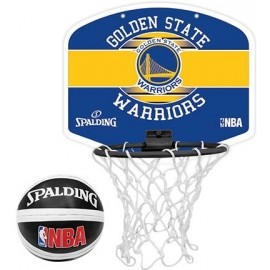 Spalding NBA MINIBOARD GOLDEN STATE WARRIORS - Basketbalový kôš