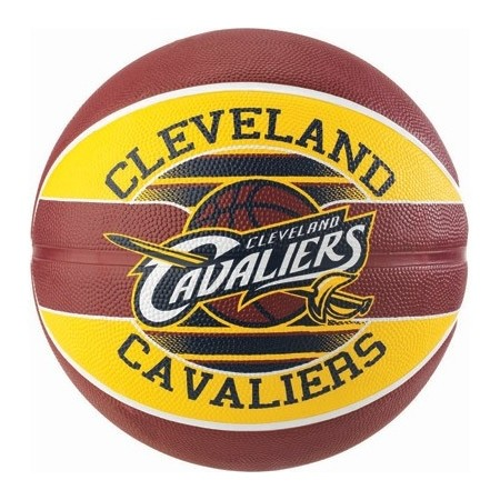 Basketbalový míč - Spalding NBA TEAM BALL CLEVELAND CAVALIERS