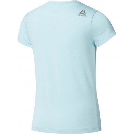 Tricou sport de copii - Reebok GIRLS ESSENTIALS BASIC T-SHIRT - 2