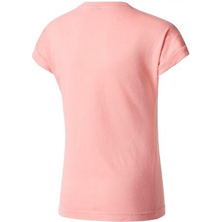T-Shirt für Mädchen - adidas YG LOGO TEE - 2