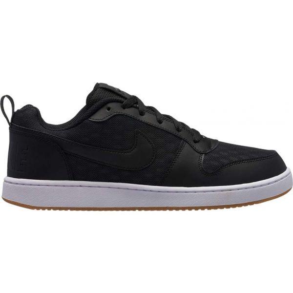 Nike COURT BOROUGH LOW SE SHOE černá 9.5 - Pánská volnočasová obuv