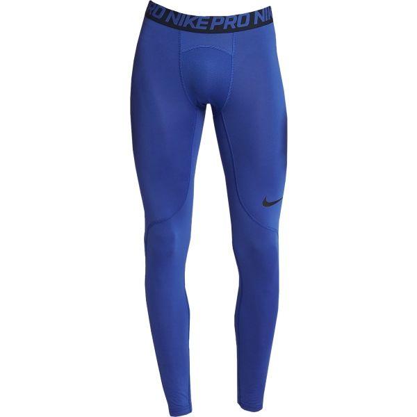 Nike NP TIGHT tmavě modrá M - Pánské tréninkové legíny