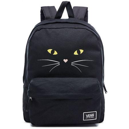 8fcc25e578 Dámský batoh - Vans REALM CLASSIC BAC BLACK CAT - 1