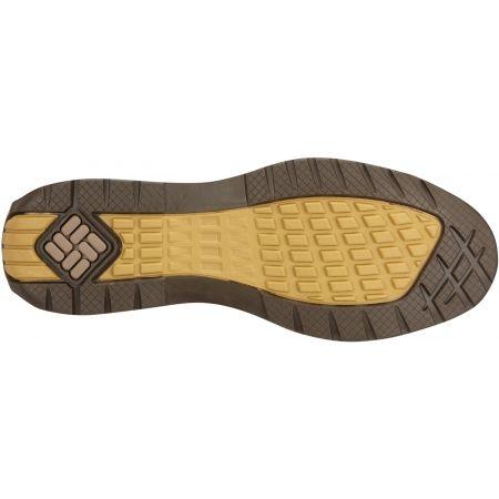 Мъжки обувки за разходки - Columbia DAVENPORT CHUKKA WP LTR - 3
