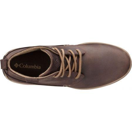 Мъжки обувки за разходки - Columbia DAVENPORT CHUKKA WP LTR - 2
