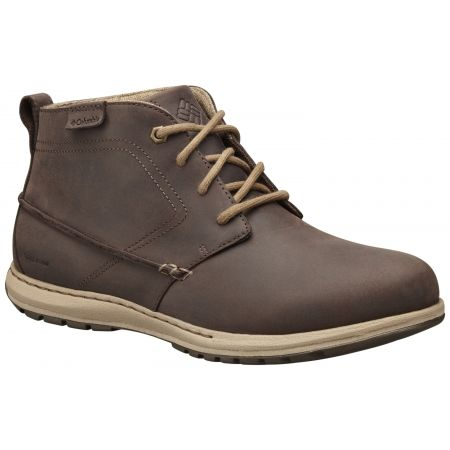 Columbia DAVENPORT CHUKKA WP LTR - Men's walking shoes