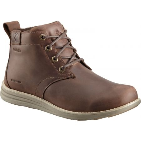 Columbia IRVINGTON II CHUKKA LTR WP - Men's walking shoes
