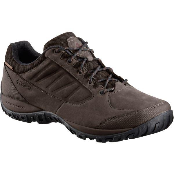Columbia RUCKEL RIDGE PLUS WP hnědá 9.5 - Pánská treková obuv