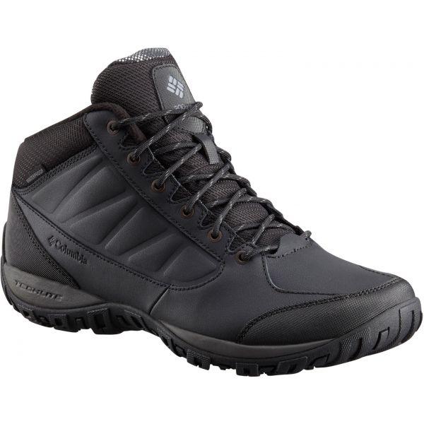 Columbia RUCKEL RIDGE CHUKKA OH WP černá 11.5 - Pánská outdoorová obuv