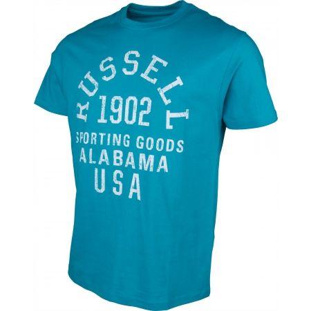 Tricou de bărbați - Russell Athletic S/S CREW ALABAMA TEE - 2