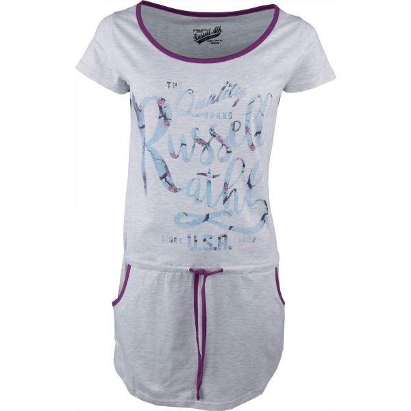 Russell Athletic DRESS  PRINT szürke XS - Női ruha