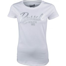 Russell Athletic T-SHIRT SH. SLEEVE SILVER - Women's T-shirt