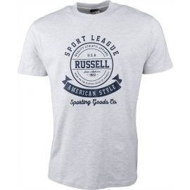 Russell Athletic S/S CREW NECK RAISED - Men's T-shirt