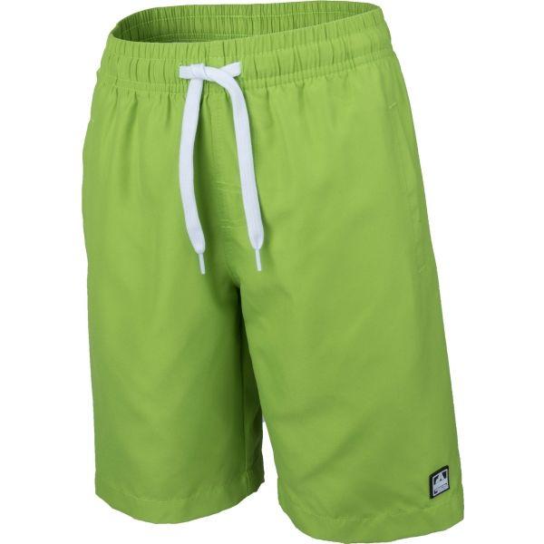 Aress AARON světle zelená 152-158 - Chlapecké šortky