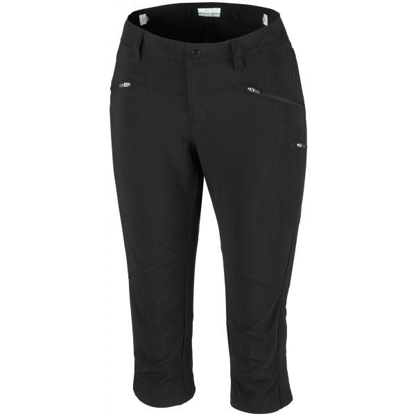 Columbia PEAK TO POINT KNEE PANT czarny 14 - Spodnie treningowe capri damskie