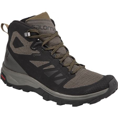 Încălțăminte de hiking bărbați - Salomon OUTLINE MID GTX - 1