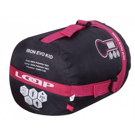 Kids' sleeping bag - Loap IRON EVO KID - 3