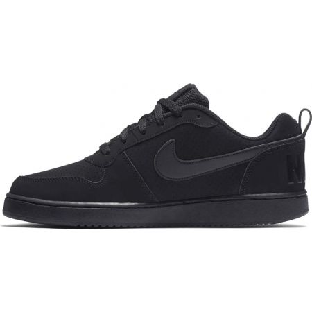 Nike COURT BOROUGH LOW SE SHOE fekete 10 Férfi szabadidőcipő