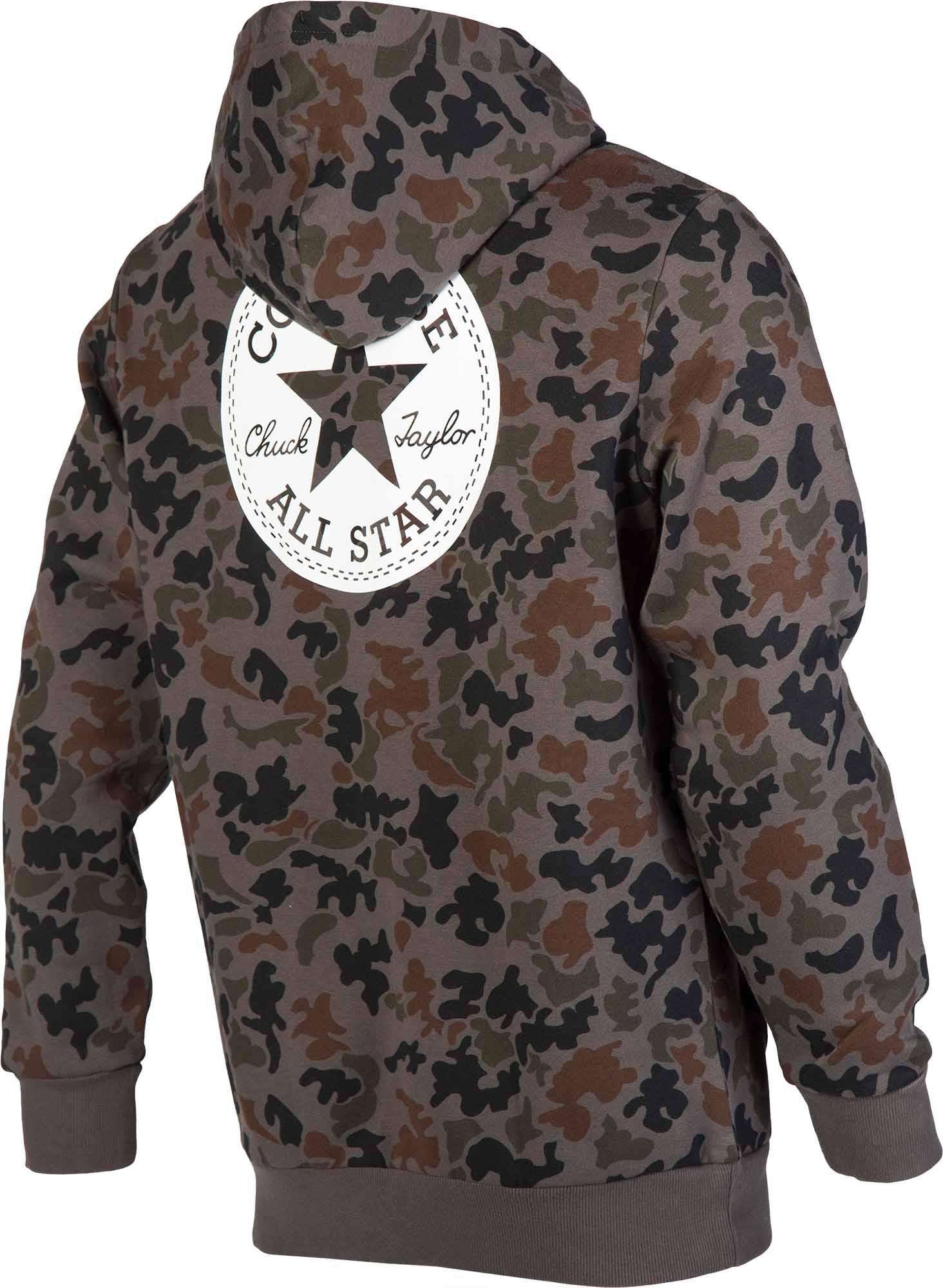 0bea027f0d9c69 Converse CORE CAMO PULLOVER HOODIE. Men s sweatshirt