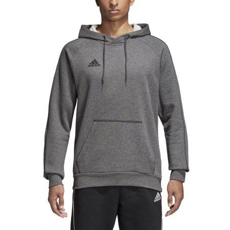 Bluza męska - adidas CORE18 HOODY - 5