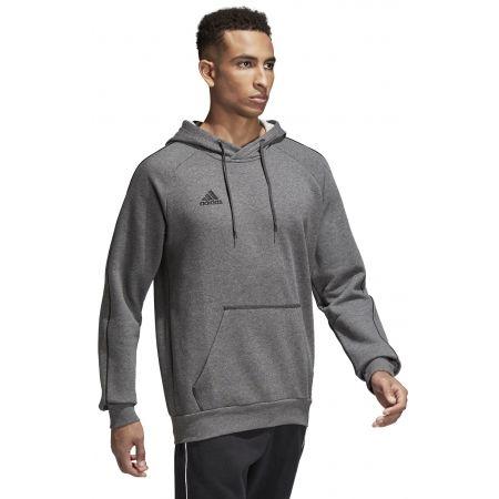 Bluza męska - adidas CORE18 HOODY - 4