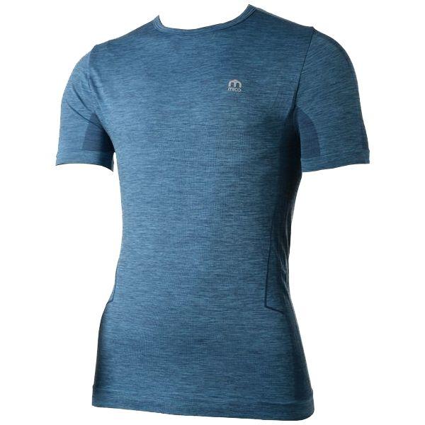 Mico HALF SLVS R/NECK SHIRT SKIN modrá 3 - Funkční triko