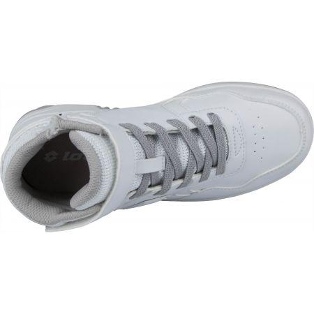 Dětská volnočasová obuv - Lotto TRACER MID LTH CL SL - 5