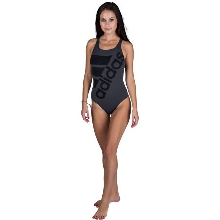 Women's one-piece swimsuit - adidas INF+ SOLID ONE PIECE - 2