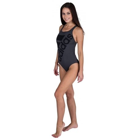 Women's one-piece swimsuit - adidas INF+ SOLID ONE PIECE - 3