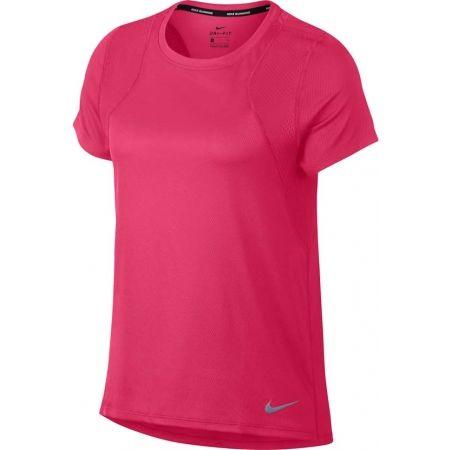 Дамска тениска за бягане - Nike RUN TOP SS - 1