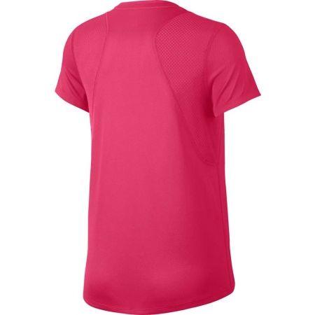 Дамска тениска за бягане - Nike RUN TOP SS - 2