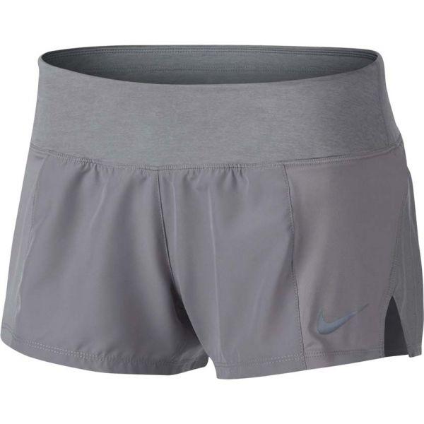 Nike DRY SHORT CREW 2 šedá M - Dámské šortky