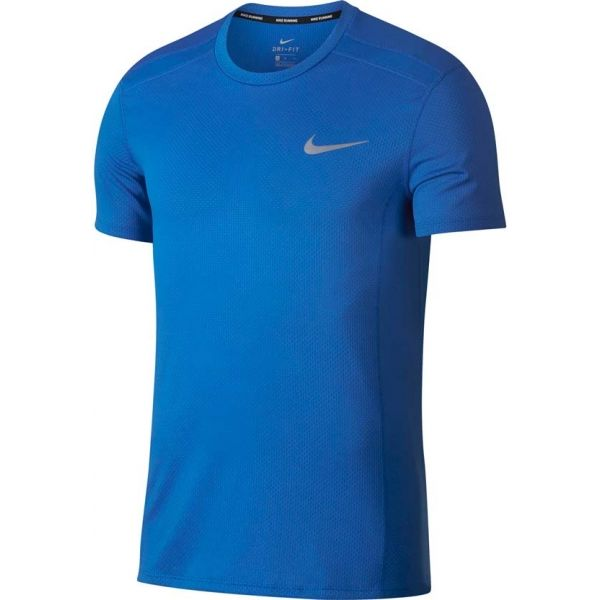Nike COOL MILER TOP SS niebieski XL - Koszulka do biegania męska