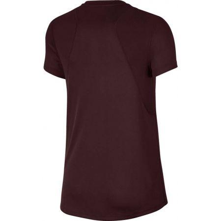 Dámské běžecké triko - Nike RUN TOP SS GX JDI - 2