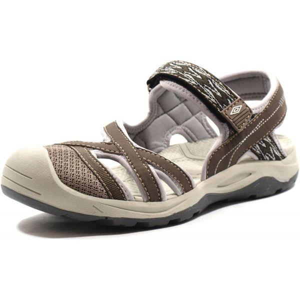 Umbro ALRUNA hnědá 37 - Dámské volnočasové sandály