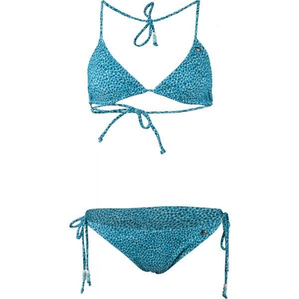 Aress ELENA niebieski L - Strój kąpielowy dwuczęściowy damski