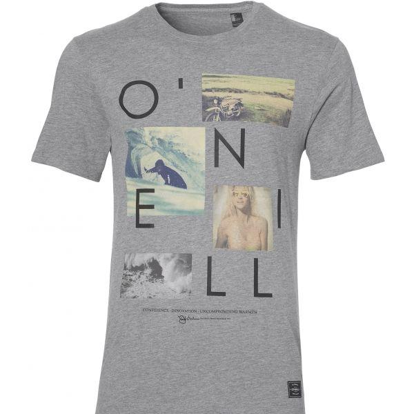 O'Neill LM NEOS T-SHIRT szürke XL - Férfi póló