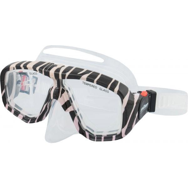 Miton KORO biały  - Maska do nurkowania