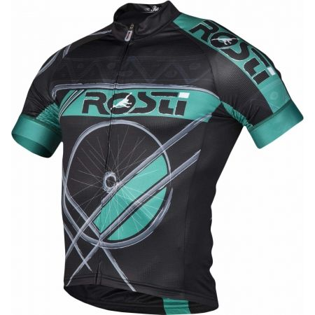 Pánský cyklistický dres - Rosti RUOTA DL ZIP - 2