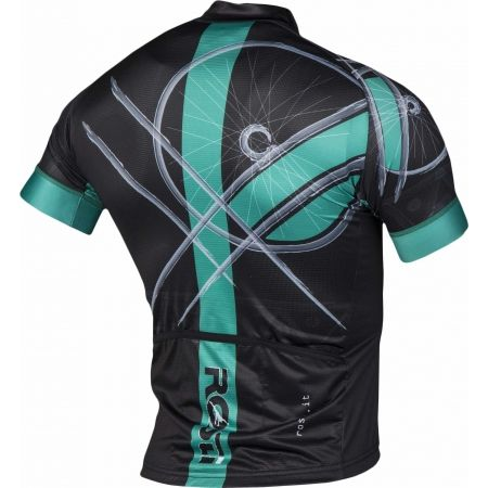 Pánský cyklistický dres - Rosti RUOTA DL ZIP - 3