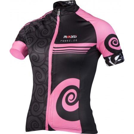 Dámský cyklistický dres - Rosti FURY LADY DL ZIP - 2