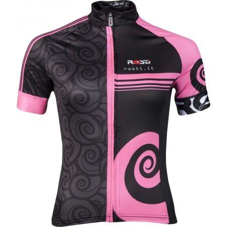 Koszulka rowerowa damska - Rosti FURY LADY DL ZIP - 1