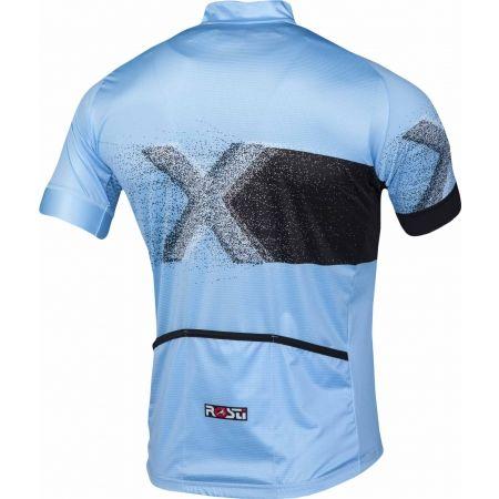 Мъжка тениска за колоездене - Rosti X KR ZIP - 3