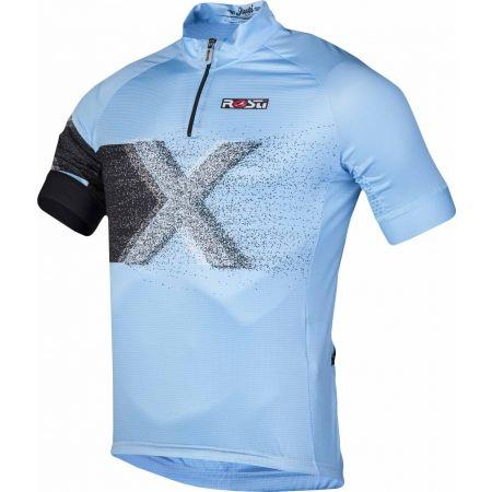 Мъжка тениска за колоездене - Rosti X KR ZIP - 2