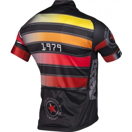 Pánský cyklistický dres - Rosti RIGA 1 KR ZIP - 3