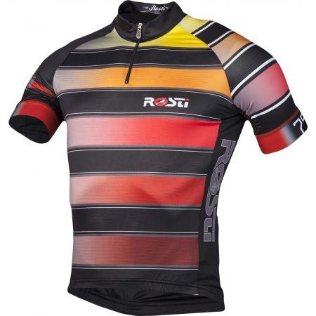 Pánský cyklistický dres - Rosti RIGA 1 KR ZIP - 2