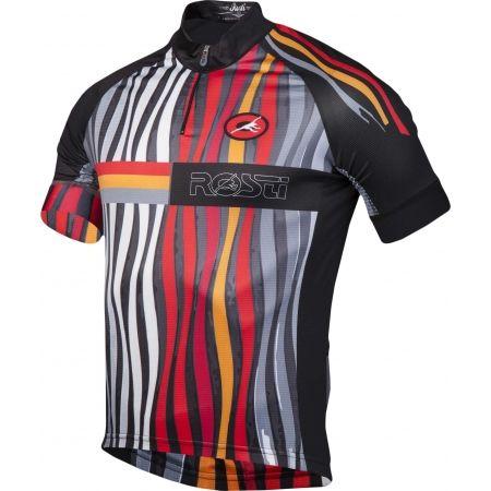 Pánsky cyklistický dres - Rosti FUEGO KR ZIP - 2