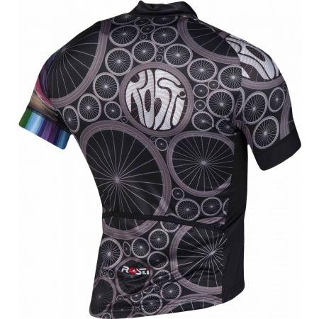 Pánsky cyklistický dres - Rosti WHEELS DL ZIP - 3