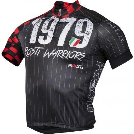 Koszulka rowerowa męska - Rosti WARRIOR KR ZIP - 2